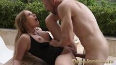 Hot Big tits Russian redhead Kaisa Nord Thumb