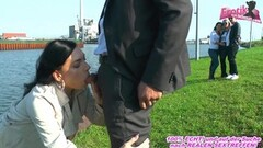 Hot public sex and caught from people with german teen Thumb