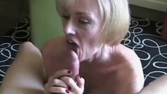 Naughty Hot Blonde Big Tit Amateur Granny Thumb