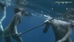 Girls on Tenerife nude swimming Thumb