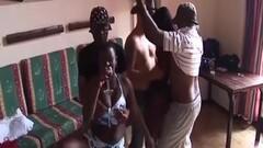 African interracial groupsex banging Thumb