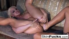 Skin Diamond's lesbian Dr. Who anal with Sexy Leya Falcon Thumb