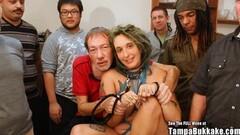 Hot Pregnant ANAL Gangbang Slut With Tattoos Bukkake Party Thumb