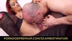 Hot Inked curvy redhead butt fucked Thumb