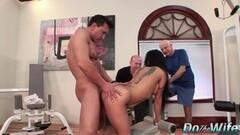 Boss licks her latina employee n her gf Thumb