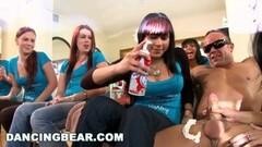 Horny Ashley's CFNM Bachlorette Party Thumb