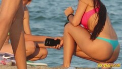 Voyeur Beach Hot Bikini Amateur Teen Video Thumb