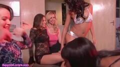 Girl on girl orgy with sensational babes Thumb