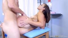 Huge dick slamming hard into brunette babe Kelsi Monroe Thumb