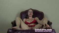 Sensual Lelu Love plays with her hot pussy Thumb