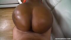 Huge white cock slams into Ms Yummy Thumb
