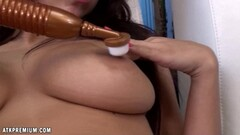 Sensual Evi Fox plays with her hot pussy Thumb