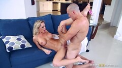 Milf gets double anal gives hard wet blowjob and swallows cum Thumb