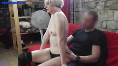 LP Officer spreadeagle fuck Kitty Carreras stretched pussy Thumb