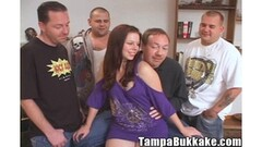Dana DeArmond & Harmony strap-on sex wrestling Thumb