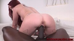Frisky Alice gives Black Dick AND our Sex Swing a Whirl Thumb