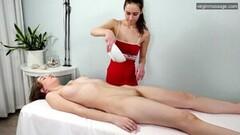 Frisky Nevet Nikolet Gets Lesbian First Time Massage Thumb