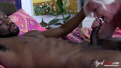 AgedLovE British Lady Lacey Gets it Fast and Wild Thumb
