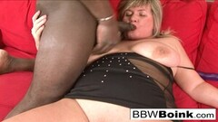 Busty mature BBW is ready for that hard black dick Thumb