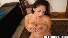 Hot Raquel Raxxx Big Bazonga MILF Sybian Ride Thumb