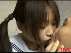 Japanese AV Model prepares food Thumb