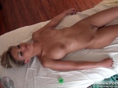 Aubrey's First Fully Nude Massage part 3 Thumb