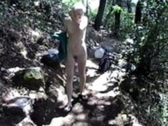 butt fucked in the woods Thumb