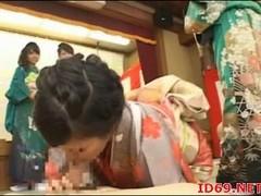 Japanese AV Model prepares food Thumb