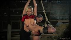 Teen bondage sex slave pleasing her master's whip Thumb