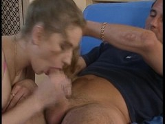 German babe stuffed by a big cock Thumb