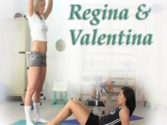 Regina & Valentina at the gym Thumb