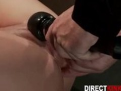 Teen Slave Gets Tied With Legs Spread Apart Thumb