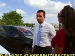 Teaser of hot Diamond Jackson buying a used car Thumb