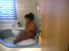 Black girl in the hot tub - Inferno Productions Thumb