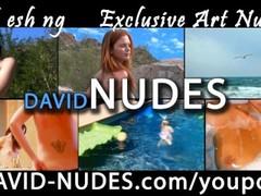 Nude Teen Amanda Plays in Her Pool Thumb