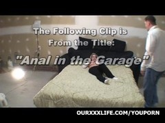 Swinger Threesome in The Garage Thumb