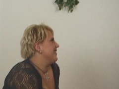 Chubby blonde gets fucked and fisted - Inferno Productions Thumb