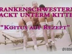 Krankenschwester nackt unterm Kittel german Thumb