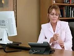 Samantha Stone Office Masturbation Thumb