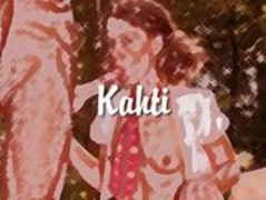 Kahti Parker iin the forrest Thumb