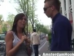 Blonde amsterdam hooker sucks guy Thumb