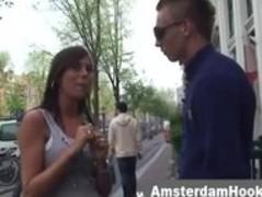 Blonde amsterdam hooker sucks guy Thumb