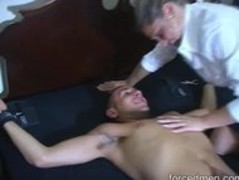 Mistress teases naked man but ruined his orgasm in the end Thumb