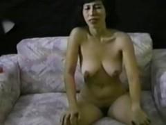 Asian masturbates and gets a hot facial Thumb