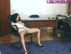 Hot Brunette Spreads Her Legs For A Hot Office Bang2.wmv Thumb