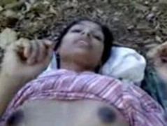 Indian teenage babe fucking very hardly with in forest .avi Thumb