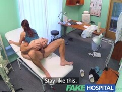 Blonde granny nurse self exam with pussy spreader Thumb