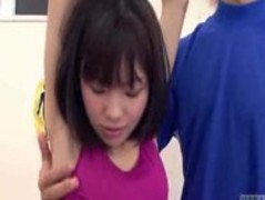 Japanese erection at the gym Thumb