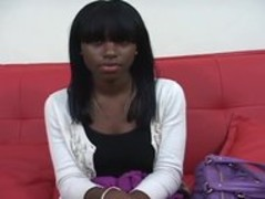 Ebony Teen In Her first Amateur Video Thumb