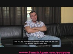 FemaleAgent. Cocky casting gets dominated Thumb